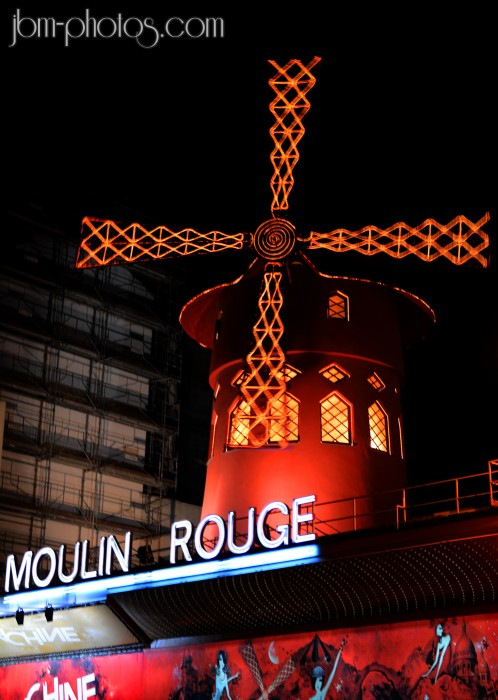 Le moulin rouge, Paris