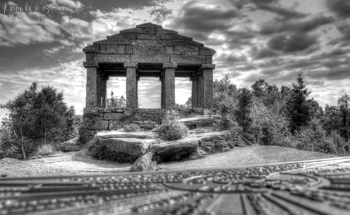 Temple Gallo-Romain du Donon HDR