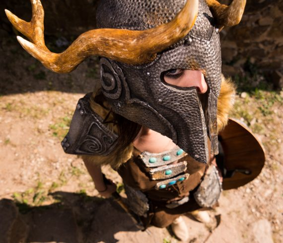 Casque Nordique Antique Skyrim grand angle