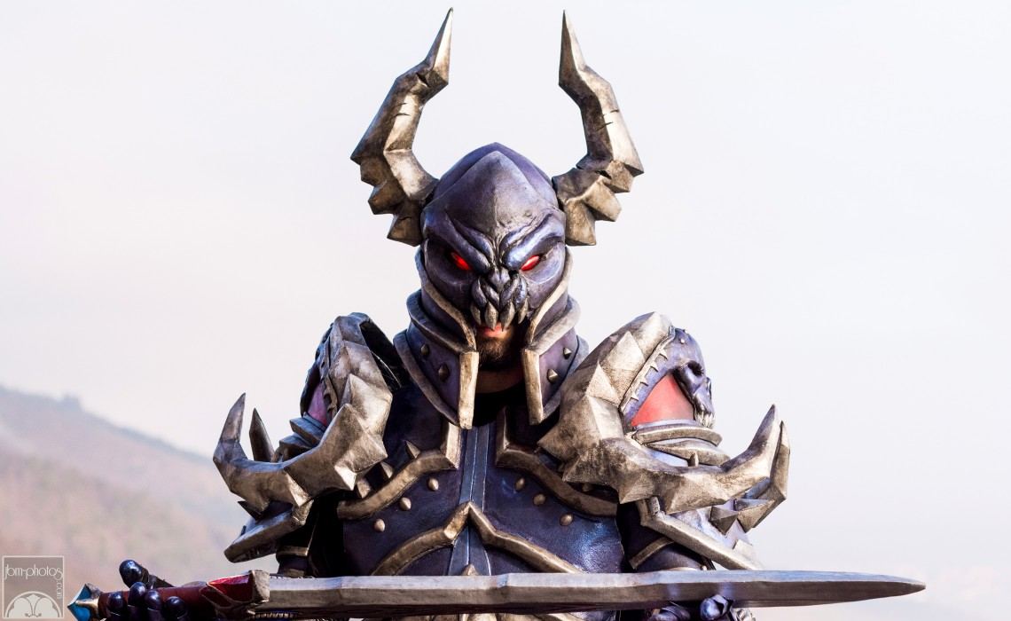 Cosplay World of Warcraft (black knight)